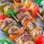 Very tender and so flavorful, these Easy Chicken Kebabs are MUST TRY this summer! This is my go-to kebab recipe. ? tgncooking.com
