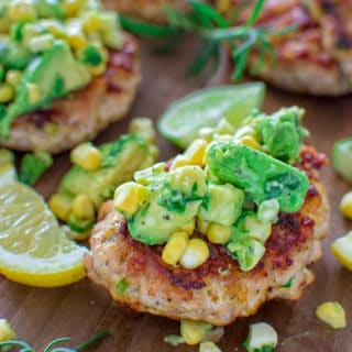 Very easy to make, yet so tender and tasty, these Chicken Burgers with Avocado Salsa are going to be loved by everyone! ? tgncooking.com