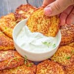 Simple and very tasty, this kid-friendly Basic Cauliflower Fritters recipe is a must-have for any housewife. ? tgncooking.com