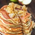 Very thick and fluffy, made with eggs, yogurt, fresh apples, organic cane sugar, and cinnamon - these Apple Pancakes have been in my family for generations! ? tgncooking.com