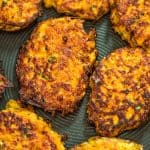 Made with only 4 ingredients, these Sweet Potato Hash Browns are easy to make and very delicious. Learn how to make perfect hash browns with my step-by-step photo and video instructions. #sweetpotatoes #hashbrowns #lunch #vegetarian #easyrecipe