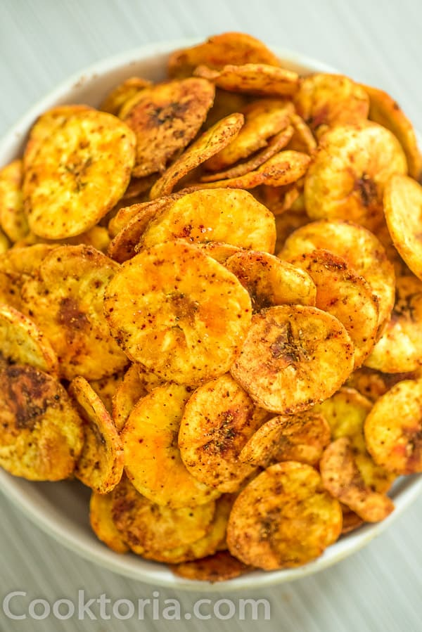 Plantain Chips in a Bowl