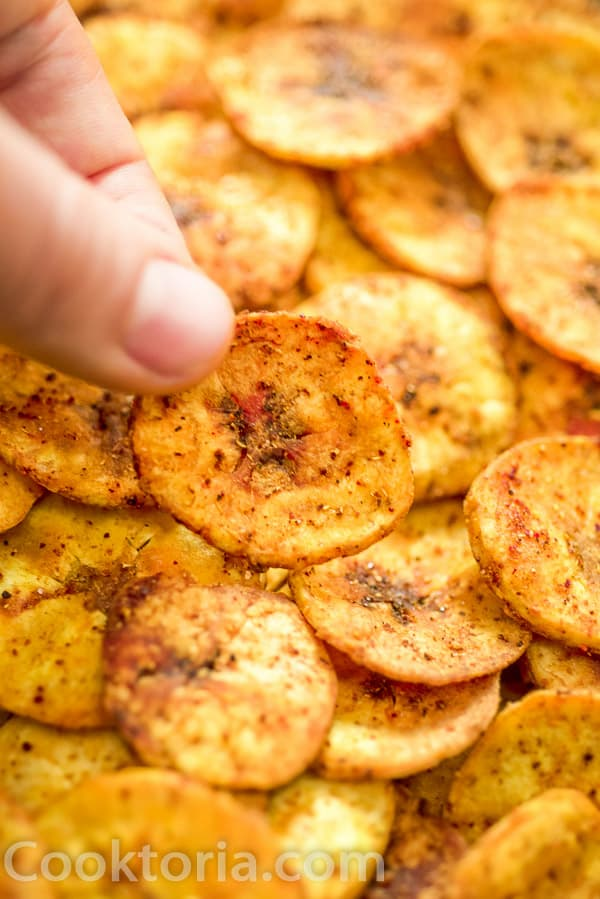 Plantain Chips from upclose