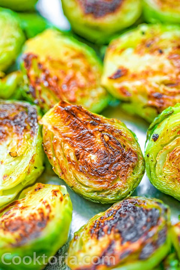 Brussel Sprouts from up close
