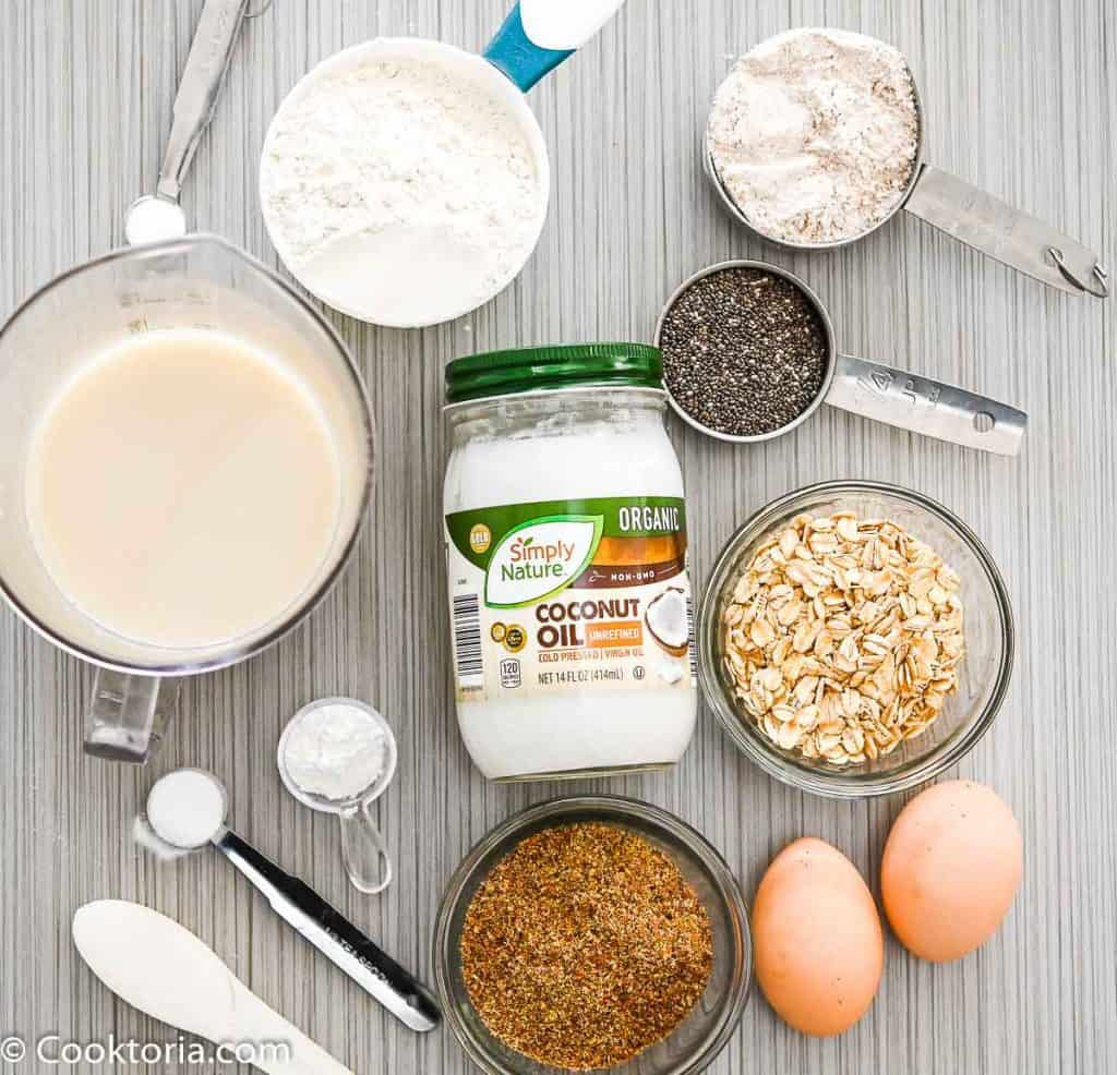 Ingredients for Healthier Pancakes
