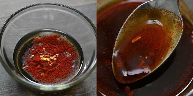 Making Soy Sauce Mixture