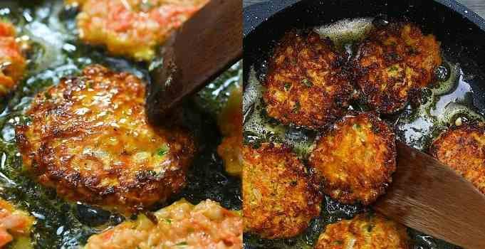 flipping the fritters